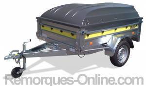 Frac Trigano Trailer 200 x 134 cm with ABS Hard Top